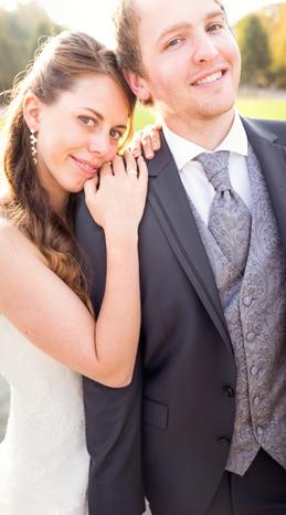 Hier seht ihr ein Hochzeitsfoto
